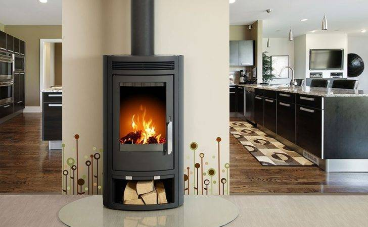 Home Wood Burning Stoves Contemporary