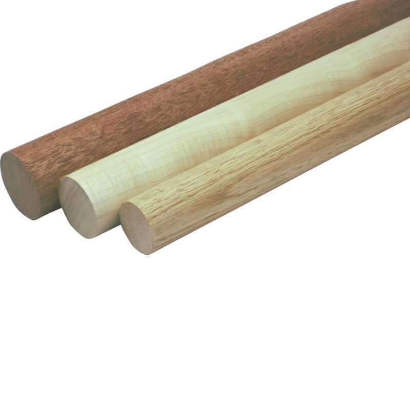 Home Wood Stair Handrail Profiles Round