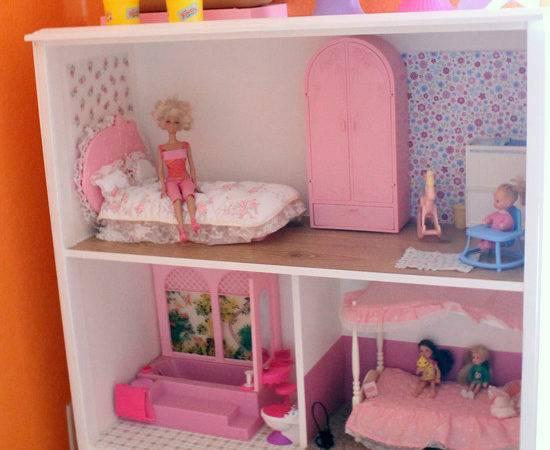 Homemade Barbie House Android Iphone Ipad