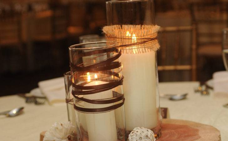 Homemade Coffee Table Wedding Centerpieces Justjen