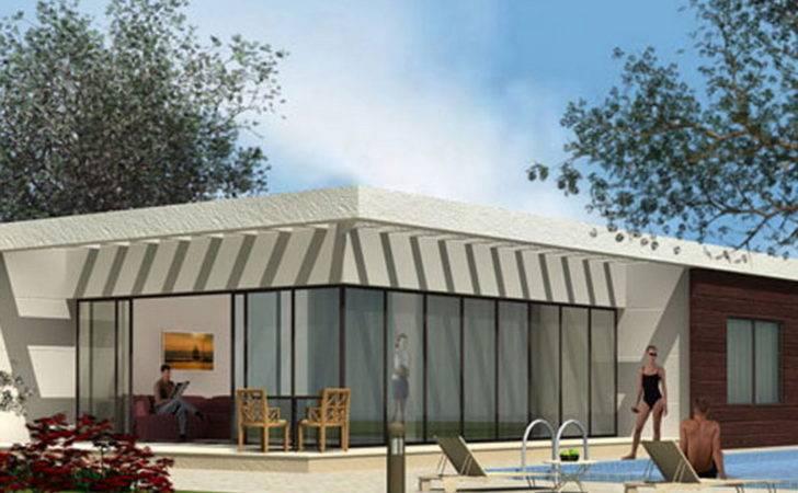 Homes Bauhu Modular Prefabricated Light Steel Frame Kit