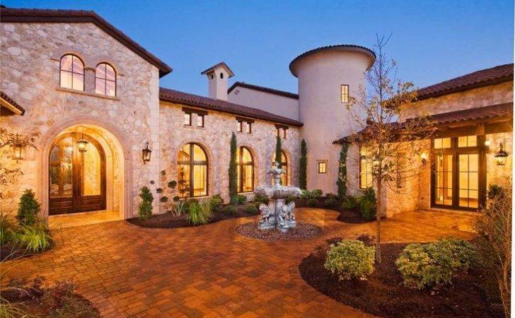 Homes Luxury Home Architecture Modern Pinterest Tuscan