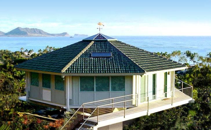 Homes Oceanfront Stilt Houses Coastal