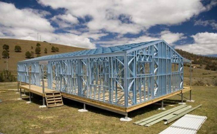 Homes Panelized Framing Kit Diy Steel