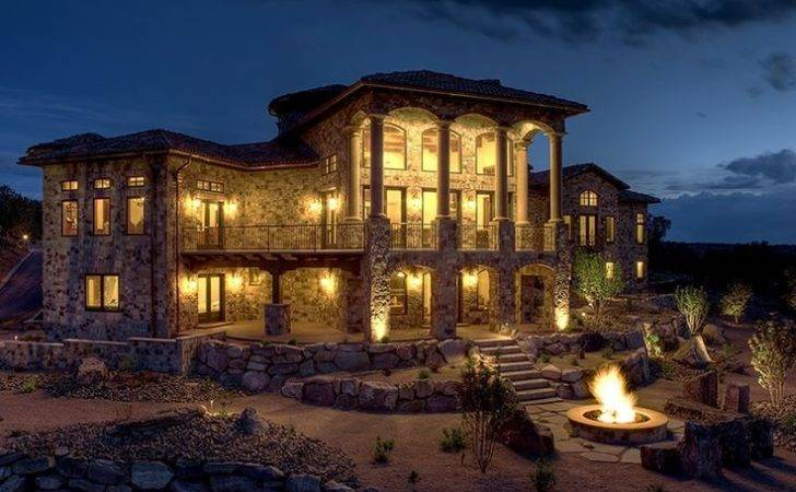 Homes Tuscan Pinterest Mansions Home Mediterranean House