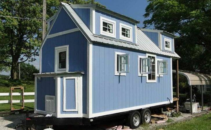 Homes Wheels Tiny Home Plans Small House Design Trailer