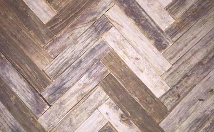 Hometalk Reclaimed Wood Herringbone Backsplash Bathroom Vanity