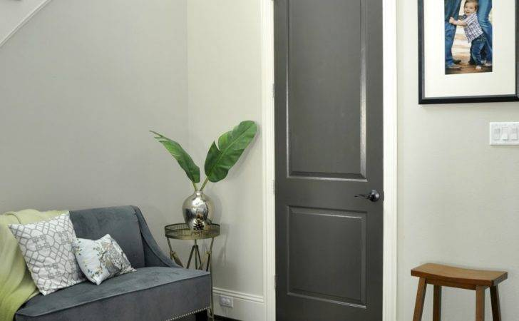 Honey Home Black Gray Painted Interior Doors