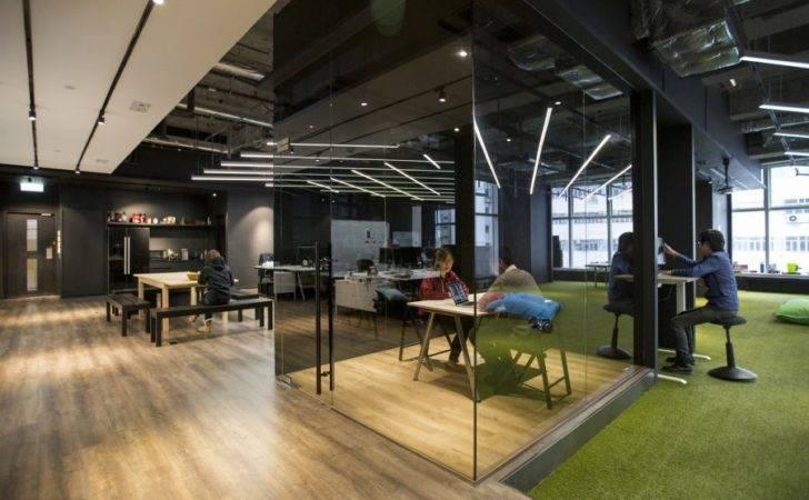 Hong Kong Warehouse Converted Creative Office Space Freshome