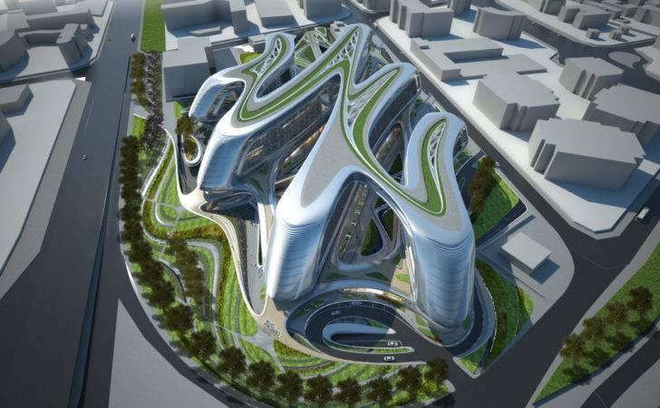 Hongqiao Soho Shanghai China Zaha Hadid Architects