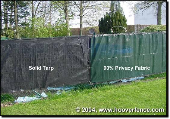Hooverfence Privacy Slats Chain Link Fence Pvc