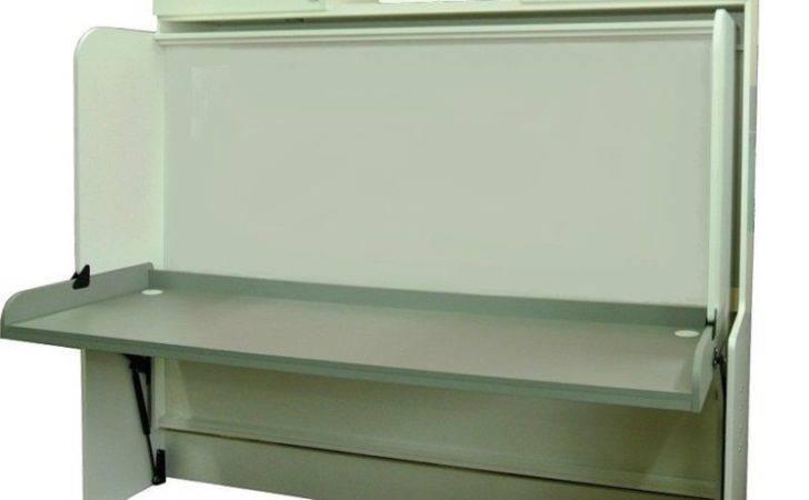 Horizontal Double Wall Bed Desk Space Saving Murphy Ebay
