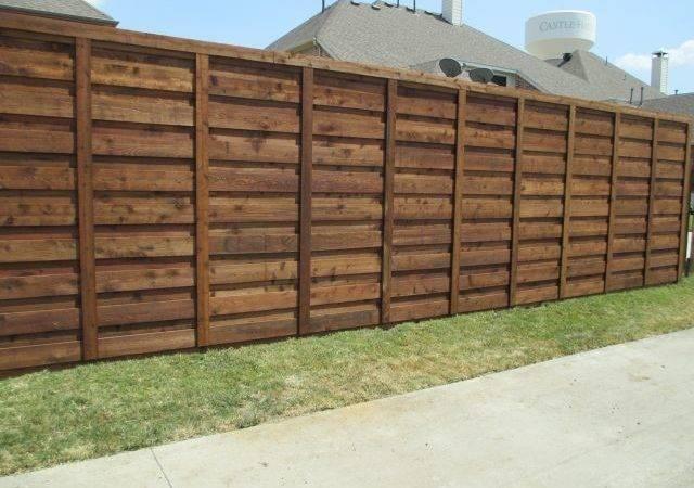 Horizontal Fence Texas Best