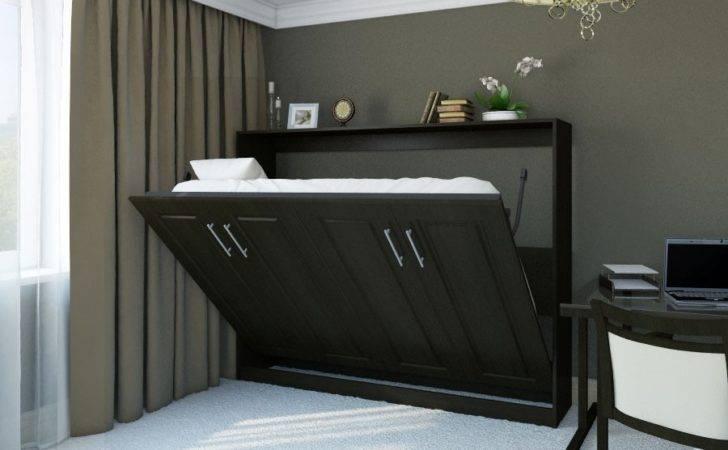 Horizontal Metropolitan Murphy Bed Transitioning
