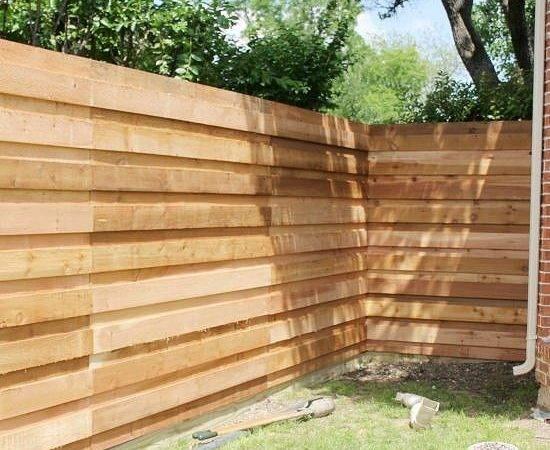 Horizontal More Backyards Fence Jays