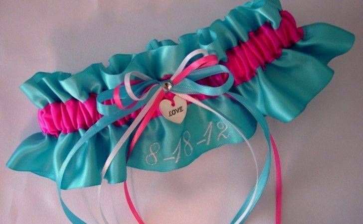 Hot Pink Turquoise Wedding Pinterest