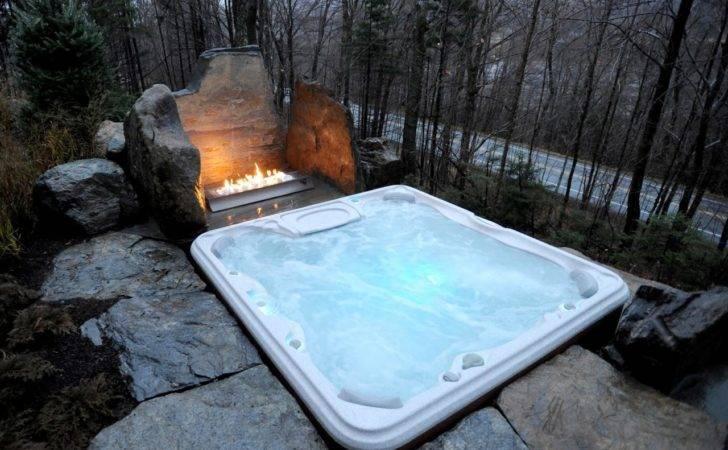 Hot Tub Patio Pinterest Deck
