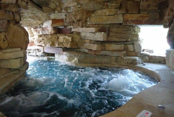 Hot Tub Spa Inside Grotto Barringtonpools Grottos Water