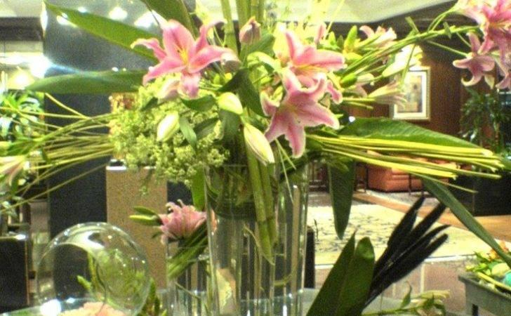 Hotel Lobby Flowers Meli