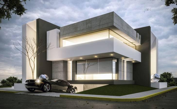 House Architecture Modern Facade Contemporary Design