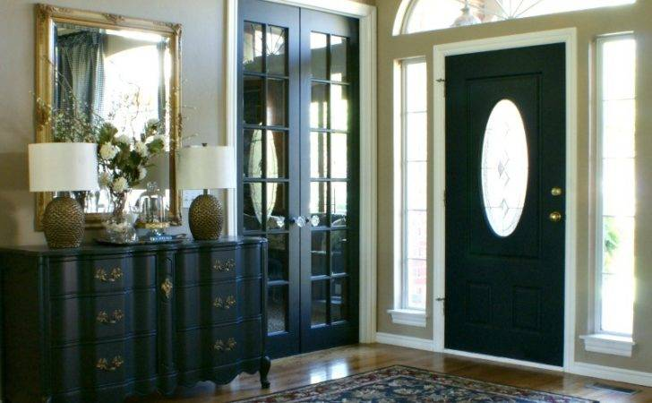 House Black Interior Doors