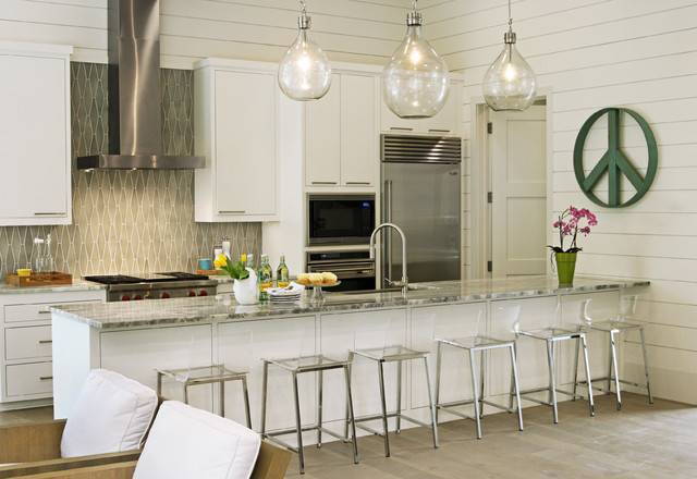 House Contemporary Kitchen Austin Glynis Wood Interiors