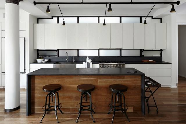 House Design Urban Kitchen Finishes Stylish Simple Interior