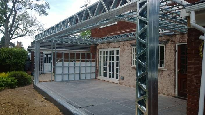 House Extension Pinterest Extensions Steel