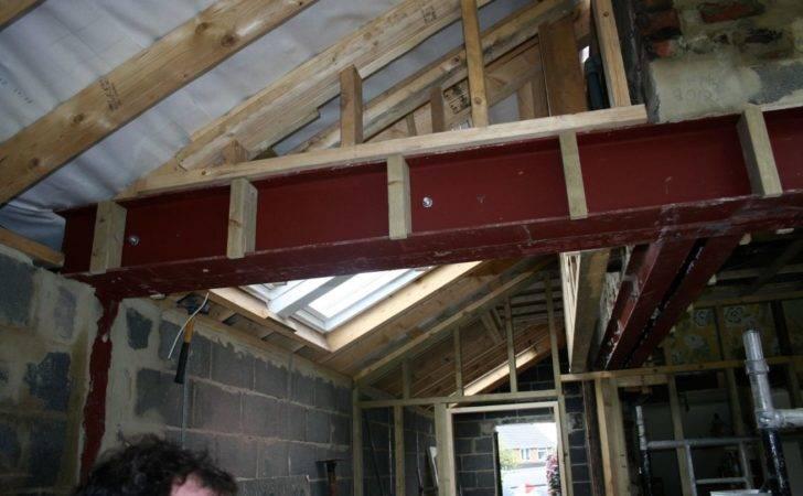 House Extension Steel Beams
