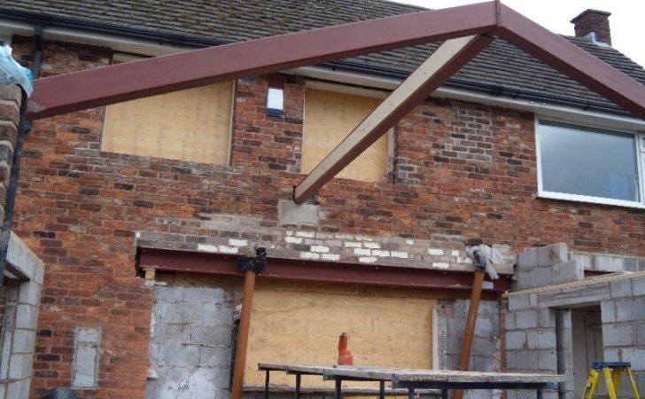 House Extension Steels