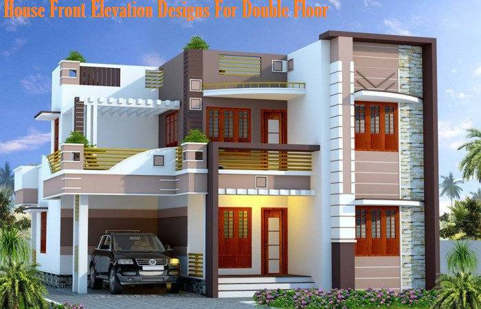 House Front Elevation Designs Double Floor Small