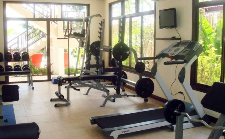 House Gym Interior Tasteful Design Luxury