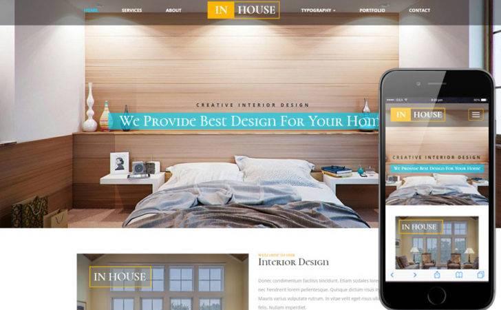 House Interior Furniture Responsive Web Template