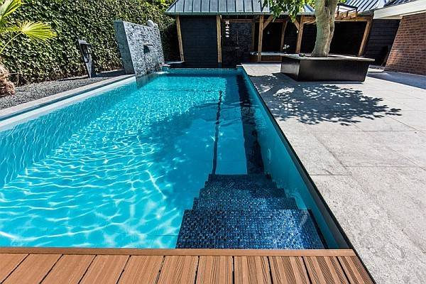 House Plan Feature Pool Floor Plans Design Your Own Swimming