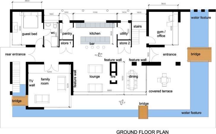 House Plans Modern Floor Home Design