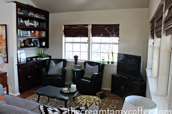 House Tour Living Room Cream Coffee