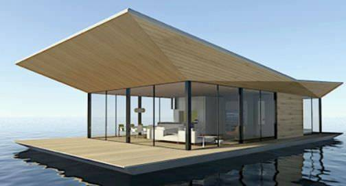 Houses Dymitr Malcew Floating House Contemporary London