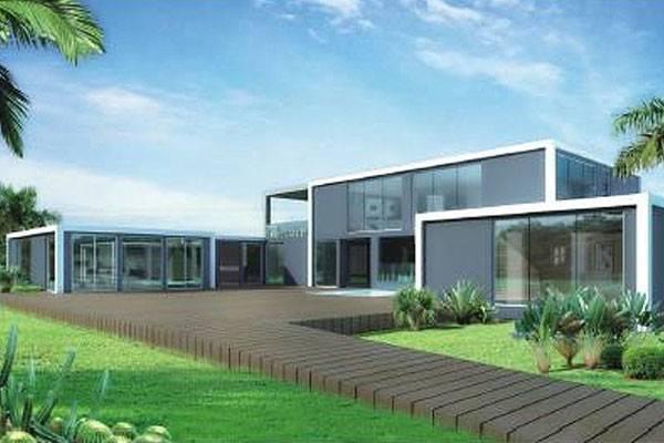 Houses Kit Self Build Homes Modular Light Steel
