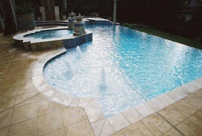 Houston Amazing Pool Edging Ideas Dream Swimming Pinterest