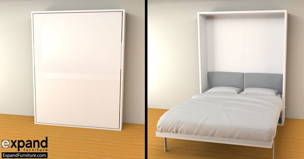 Hover Compact Wall Bed Queen Expand Furniture