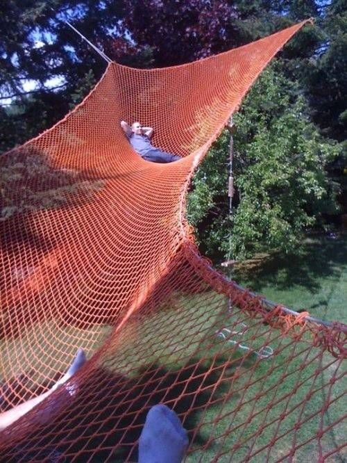 Huge Backyard Hammock Dream Rugged Life