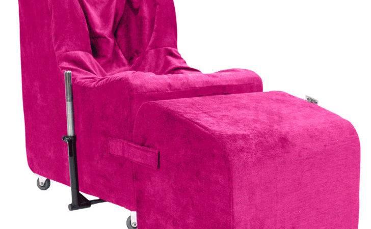 Hula Princess Fabric Chill Out Chair Roll