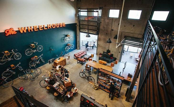 Hybrid Bike Shop Cafes