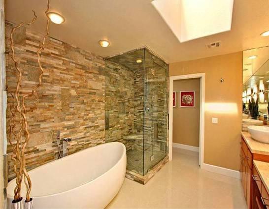 Hydrosystem Picasso Tub Stone Wall Shower