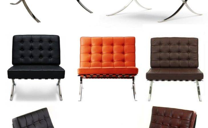 Iconic Modern Style Barcelona Chair House Appeal
