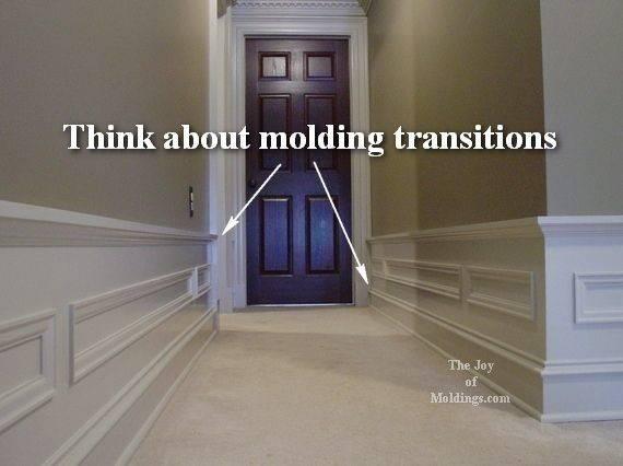 Idea Hallway Nice Moldings Diy Projects Pinterest