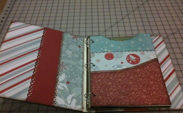 Idea Journal Smash Book Binder Holiday Ideas Supplies