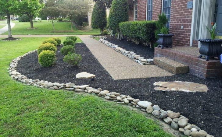 Ideas Addition Landscaping Rocks Mulch Likewise