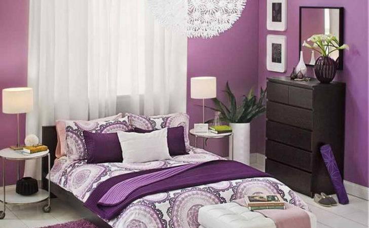 Ideas Adults Bedroom Painting Purple Theme