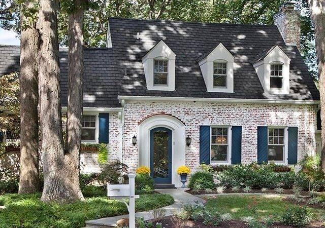 Ideas Brick Home Exteriors Pinterest Painted Homes
